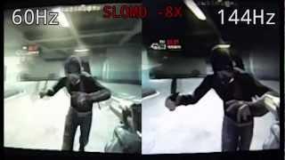 Download 60Hz vs 144Hz in 240FPS Slow Motion Video