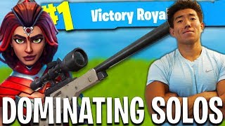 Download BACK TO BACK SOLO WINS! KING OF TILTED TOWERS!? Fortnite Battle Royale Video