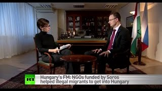 Download Soros-funded NGOs aiming to bring down our govt – Hungarian Foreign Minister Video