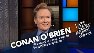 Download Conan O'Brien Didn't Ask David Letterman For A Horse Video