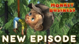 Download Masha and The Bear - Monkey Business 🐵(Episode 74) Video
