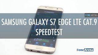 Download Samsung Galaxy S7 edge LTE Cat 9 Speedtest Video