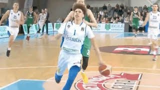 Download LaMelo Ball DOMINATES Grown Men in Lithuania Pro Debut with SICK No Look Pass Video