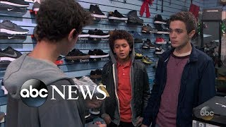 Download Teen boy is picked on for not being able to afford new clothes | What Would You Do? | WWYD Video