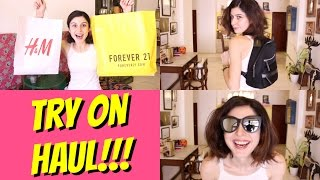 Download Try On Haul - Forever 21, H & M & More!!! Video