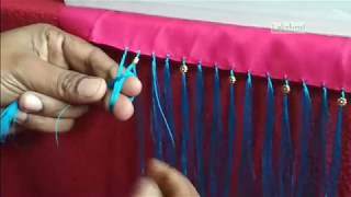 Download Saree Kuchu/tassel with flower beads-new design with tips Video