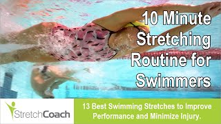 Download Swimming Stretches, Swimming Stretching Routine, Best Flexibility Program for Swimmers Video