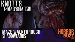 Download #ScaryFarm 2016 Shadowlands Maze Walkthrough 2D Video
