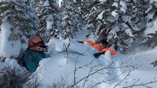Download How to unstuck your snowmobiler friend. PowerModz Style. Video