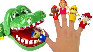 Download Learn Colors with Paw Patrol Family Finger Song Crocodile Dentist Lollipops Video