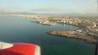 Download Landung auf Flughafen Palma de Mallorca Aeropuerto de Son San Juan (PMI) mit Air Berlin Video