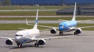 Download Great Plane spotting day at Schiphol Amsterdam - Very close to the action! (35 planes) Video