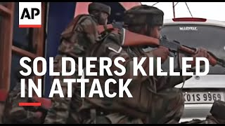 Download Soldiers killed in attack on army convoy day before PM's visit Video