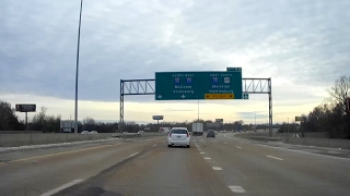 Download Road Trip #104 - I-55 South - Exit 102, Jackson to Exit 72, Crystal Springs, Mississippi Video