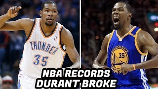 Download NBA RECORDS Kevin Durant Has Broken! Crazy NBA Finals Records and Stats! Video