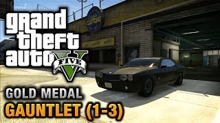 Download GTA 5 - Mission #74 - Gauntlet (1-3) [100% Gold Medal Walkthrough] Video