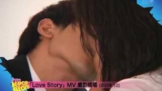 Download 090725 [HQ] Rain Bi kisses Ha Ji Won in Love Story BTS Video