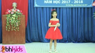 Download Mái Trường Mến Yêu - Bé Thanh Hằng   Nhạc Thiếu Nhi Video