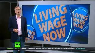 Download If a business won't pay a living wage - it shouldn't exist Video