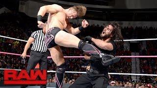 Download Seth Rollins, Dean Ambrose & AJ Styles vs. The Miz, Sheamus & Cesaro: Raw, Oct. 23, 2017 Video