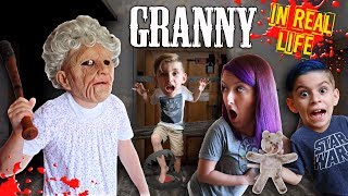 Download Granny Horror Game In Real Life! FUNhouse Family Video