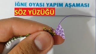 Download Söz Yüzüğü İğne Oyası Modeli Yazma modeli needle lace Video