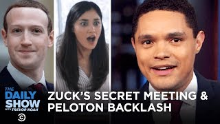 Download Mark Zuckerberg's Secret Meeting with Trump & Peloton Ad Blowback   The Daily Show Video