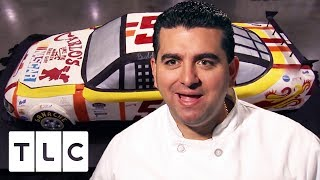 Download Buddy Builds a Life Size NASCAR CAKE | Cake Boss Video