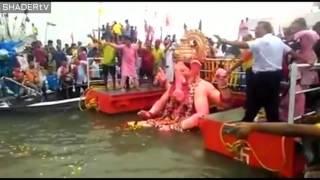 Download Lalbaugcha Raja Visarjan 2016: Lalbaugcha Raja 2016 Mumbai Video