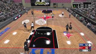 Download GRAVITY DEFYING SHOT GOES IN! NBA 2K17 Pro Am Gameplay Video