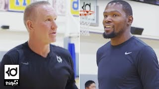 Download Racks: Kevin Durant Shooting Contest with Chris Mullin Video