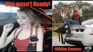 Download She WASN'T READY!!!! 1000hp Camaro Ride Along and burnout! Video