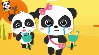 Download Baby Panda's Bicycle Competition, Who Failed? | Vehicle Songs | Learn Transportation | BabyBus Video