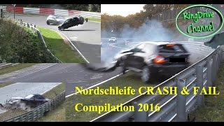 Download Big CRASH and FAIL compilation 2016 on Nürburgring Nordschleife RingDrive Channel Video