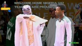 Download U17 Players Grumble as President Buhari Hands ₦20,000 Each to Golden Eaglets 4 WorldCup Win Video