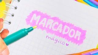 Download MARCADOR MÁGICO ¡ Borra Tinta ! FÁCIL Paso a paso ✎ Craftingeek Video