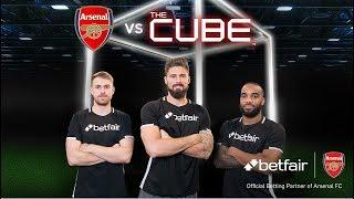 Download Giroud, Lacazette & Ramsey vs The Cube: Full episode Video
