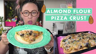 Download Almond Flour Pizza Crust Video