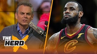 Download Colin Cowherd on the Cavaliers sweeping the Raptors, Philly's Game 4 win | NBA | THE HERD Video