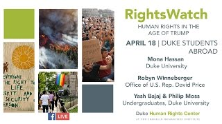 Download RightsWatch: Duke Students Abroad in the Age of Trump Video
