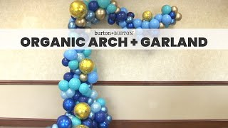Download Organic Arch and Garland Video