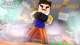 Download 360° Hello Neighbor - NEIGHBOR VISION - Minecraft 360° Video Video