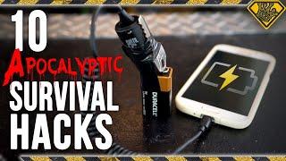 Download 10 Apocalyptic Survival Hacks Video