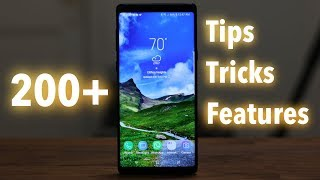 Download 200+ Samsung Galaxy Note 9 Tips, Tricks and Hidden Features Video