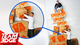 Download Don't Let Your Teammate Fall from the GIANT Box Wall!! Video