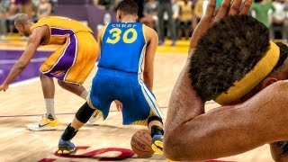 Download OMG CURRY BROKE YOUNG'S ANKLES! NBA 2K17 My Career Gameplay Ep. 10 Video