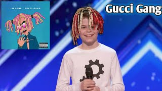 Download Kid dances to Gucci Gang on America's got talent! Video