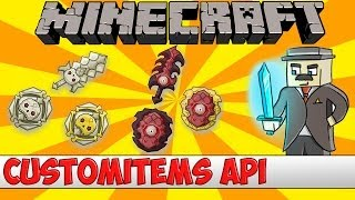 Download Minecraft Bukkit Plugin - Customitems API - Tutorial Video