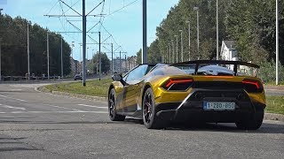 Download Lamborghini Huracan Performante Spyder - Lovely Sounds! Video