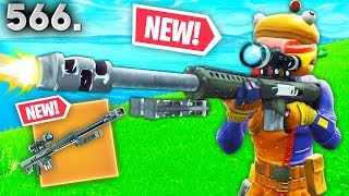 Download *NEW* HEAVY SNIPER LEAKED GAMEPLAY..!! Fortnite Funny WTF Fails and Daily Best Moments Ep.566 Video